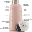 LUND Skittle Mini  BPA mentes acél kulacs 300ML CAT