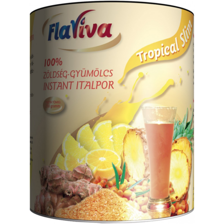 FlaViva Slimonádé (Tropical Slim) (250 gr) 100% zöldség-gyümölcs instant italpor